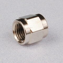 "Chrome-Plated 1/4"" Flare Swivel Nut"