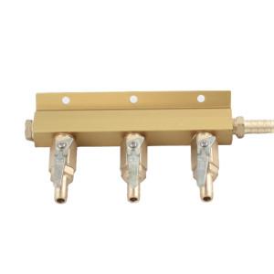 3-Way CO2 Air Manifold Distributor