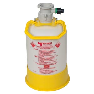 5 Liter Cleaning Bottle, Complete with Sankey D Cap