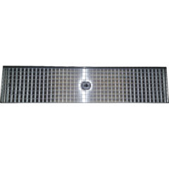 Stainless Steel 24x5 Drip Tray with Drain