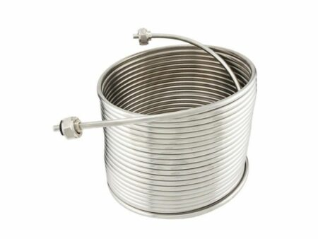 50ft 304 Stainless Steel Right-Hand Coil for Draft Beer Jockey Box