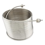 50ft 304 Stainless Steel Left-Hand Coil for Draft Beer Jockey Box