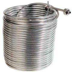 120ft 304 Stainless Steel Left-Hand Coil