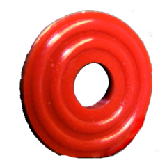 Red Plastic CO2 Replacement Washer