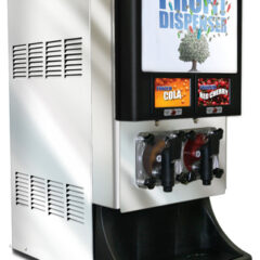 Compact 2 product Frozen Beverage Dispenser