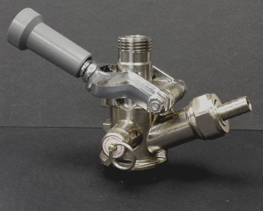 Sankey D Keg Coupler, Stainless Steel probe