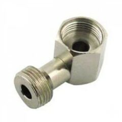 90º Elbow Beer Hex Nut Adapter