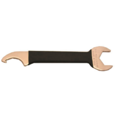 Dual Hex Nut and Beer Faucet Spanner Wrench