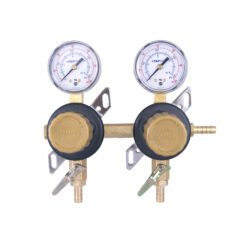 2 Product Secondary CO2 Regulator Panel with Check