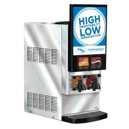 2 product Frozen Beverage Dispenser
