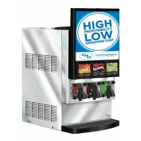 3 product Frozen Beverage Dispenser