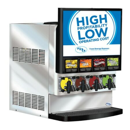 4 product frozen beverage dispenser